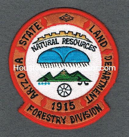 ARIZONA LAND DEPT FORESTRY DIVISION LG LETTERS