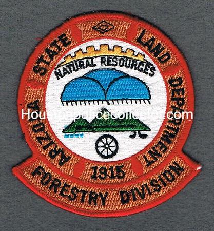 ARIZONA LAND DEPT FORESTRY DIVISION SM LETTERS