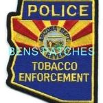 ARIZONA,ARIZONA DEPARTMENT OF REVENUE TOBACCO ENFORCEMENT POLICE 2 STATE SHAPED_wm