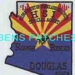 ARIZONA,ARIZONA DEPARTMENT OF HOMELAND SECURITY HSI SPECIAL AGENT DOUGLAS 1 STATE SHAPED