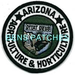 ARIZONA,ARIZONA AGRICULTURE AND HORTICULTURE HAT PATCH 1_wm