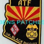 ARIZONA,ATF OPERATION BLACK BISCUIT 1 STATE SHAPED