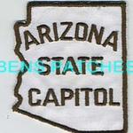 ARIZONA,ARIZONA STATE CAPITOL 1 STATE SHAPED