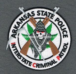 ARKANSAS STATE POLICE INTERSTATE CRIMINAL PATROL COLOR