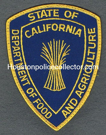 CA DEPT OF AGRICULTURE USED