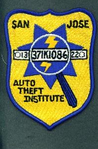 CALIFORNIA SAN JOSE AUTO THEFT INSTITUTE 56