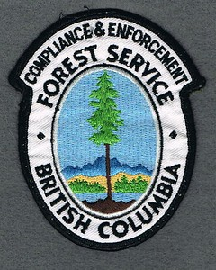 BC FOREST SERVICE COMPLIANCE AND ENFORCEMENT USED