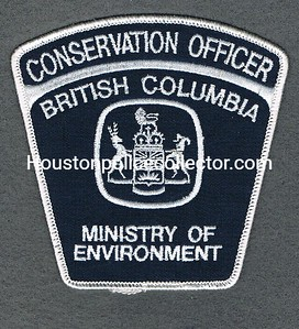BRITISH COLUMBIA CONSERVATION OFFICER