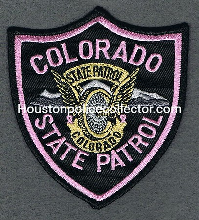COLORADO STATE PATROL PINK