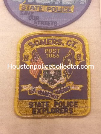 Connecticut Wanted Patches