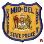 WISH,DE,DELAWARE STATE POLICE MID DEL CAMPOREE TROOP 1