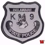 WISH,DE,DELAWARE STATE POLICE K-9 SUBDUED 1