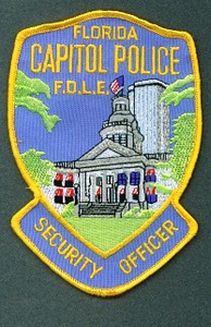 FLORIDA CAPITOL POLICE SECURITY OFFICFER