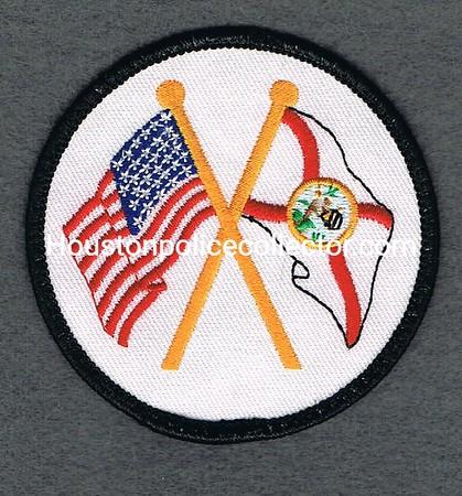 FLORIDA DOC CROSSED FLAGS