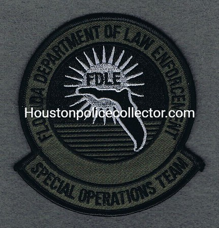 FLORIDA FDLE SPECIAL OPS TEAM