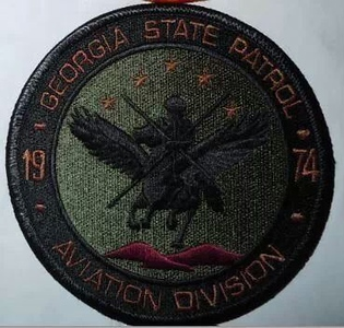 Georgia Wanted Patches