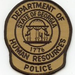 WISH,GA,GEORGIA DEPARTMENT OF HUMAN RESOURCES POLICE 1