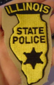 WISH,IL,ILLINOIS STATE POLICE 1 STATE SHAPED