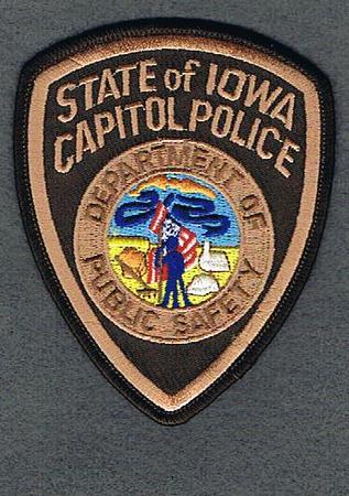 IOWA CAPITOL POLICE