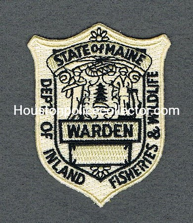 MAINE GAME WARDEN BP TAN