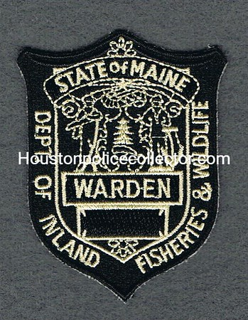 MAINE GAME WARDEN BP BLACK