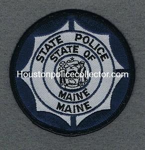 MAINE STATE POLICE ROUND BP