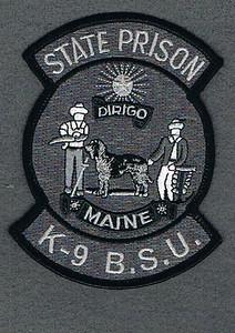 MAINE STATE PRISON K-9 BSU