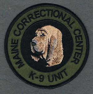 MAINE CORRECTIONAL CENTER K9 UNIT 1