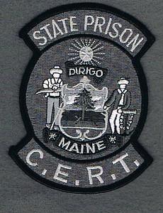 MAINE STATE PRISON CERT