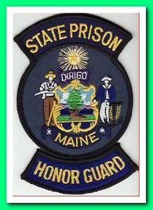 ME state prison honor guard