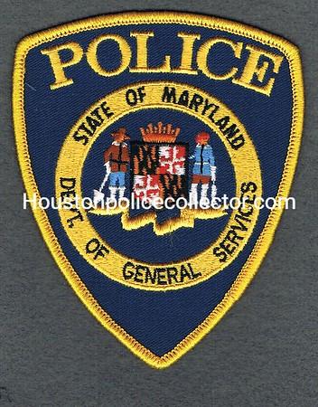 MARYLAND DEPT OF GENERAL SERVICES