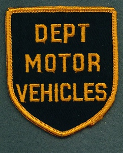 DEPT MOTOR VEHICLES