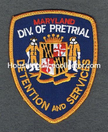 MARYLAND DOC PRETRIAL