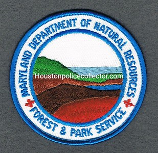 MARYLAND DNR FOREST AND PARK OOS