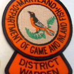 Maryland Wanted Patches