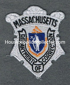 MASS DOC BADGE PATCH SILVER