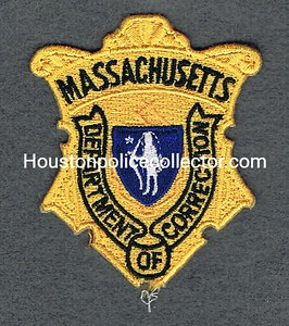 MASS DOC BADGE PATCH GOLD