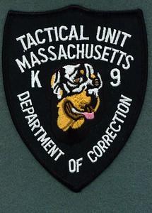 DOC K-9 TACTICAL UNIT