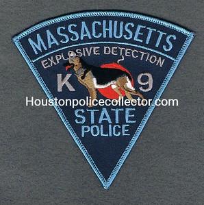 MSP K9 EXPLOSIVE DETECTION 99