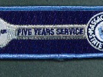 MASSACHUSETTS STATE POLICE FIVE YEARS SERVICE 56