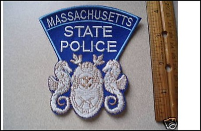 Massachusetts Wanted Patches