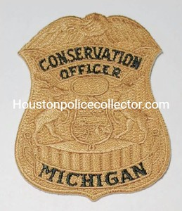 Michigan Wanted Patches