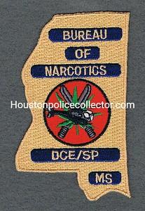 MS BUREAU OF NARCOTICS DCE sp