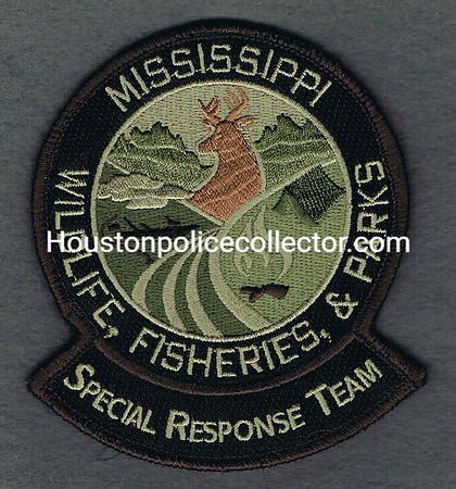 MISSISSIPPI SPECIAL RESPONSE TEAM VELCRO