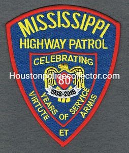 MSHP 80TH ANNIVERSARY RED BORDER