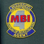 MISSISSIPPI BUREAU OF INVESTIGATION AGENT COLOR