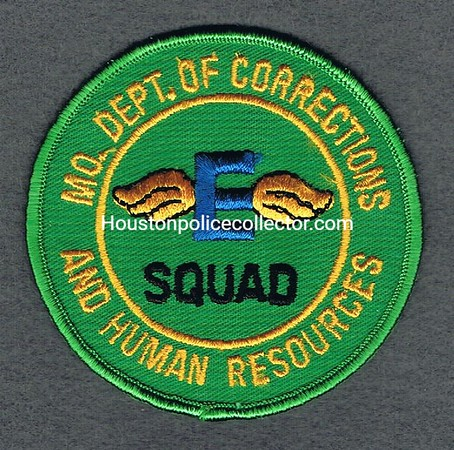 MO DEPT OF CORRECTIONS E SQUAD AND HUMAN RESOURCES