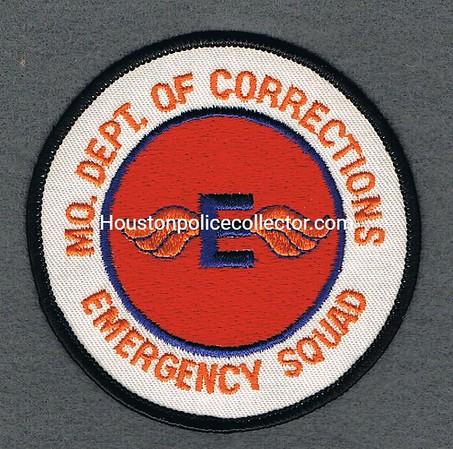MO DEPT OF CORRECTIONS E SQUAD WHITE