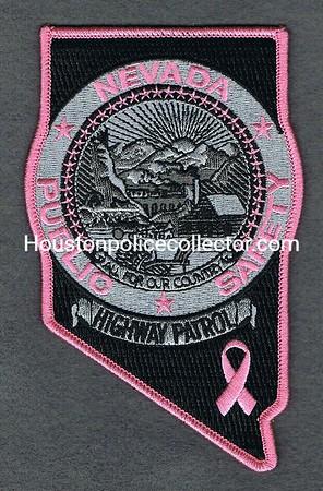 NEVADA HIGHWAY PATROL PINK