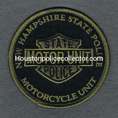 NEW HAMPSHIRE SP MOTORCYCLE UNIT